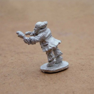 Male Halfling Ghost (with Chicken Leg) - Grim Gorger