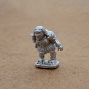 Female Halfling Henchwoman - Thora Bells