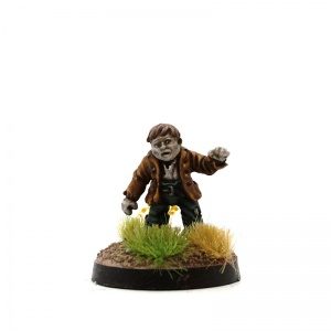 Male Halfling Zombie - Nosher Noggins
