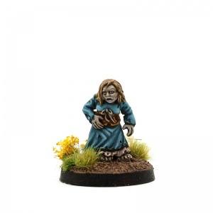 Female Halfling Zombie - Barbara Rains
