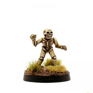 Male Halfling Skeleton - Duke Skellington