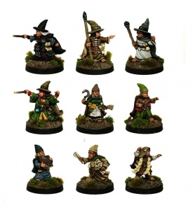 Halfling Wizards and Apprentices