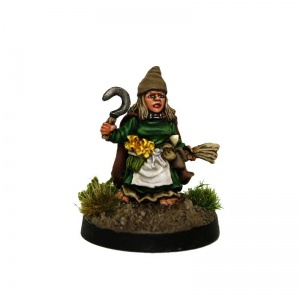 Halfling Wizard #5 Delia Green Meadow