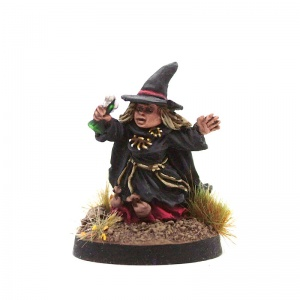 Halfling Witch #2 (With Potion)