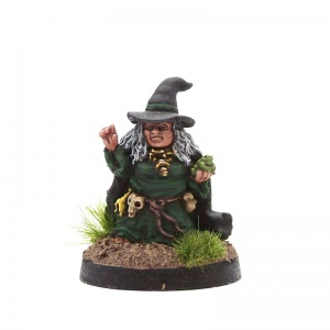 Halfling Witch #3 (With Frog)