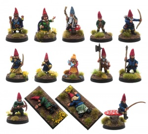 The Royal Court of the Common (or Garden) Gnomes
