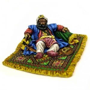 Sultan on Rug