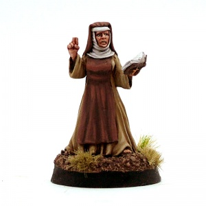 Abbess with Prayer Book - Mother Superior