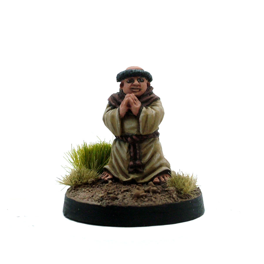 Male Halfling Monk - Brother Tuckboks