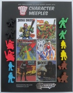 2000AD Character Meeples