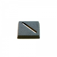 1 x Plastic Square Slotted Base (20x20mm)