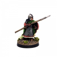 Fighter with Spear & Longshield