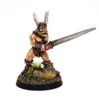 Barbarian with two-handed Sword
