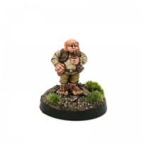 Halfling with Pipe