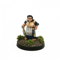 Halfling with Rolling Pin
