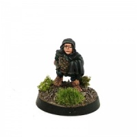 Halfling with Cloak and Dagger