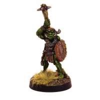 Orc Champion with Spiked Club (A)