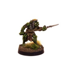 Orc Champion with Spear