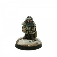 Dwarf in Winter Clothing