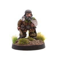 Wounded Dwarf #3 (Arm in Sling)