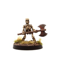 Skeleton Dwarf #2 (With 2-Handed Axe)