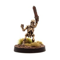 Skeleton Dwarf #3 (With Raised Sword)