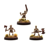 Skeleton Dwarf Pack (3 Miniatures)