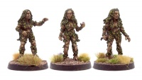 Green Lady (x3 miniatures)