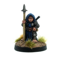 Female Halfling Warrior - Stabina Kneecap