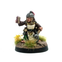Female Halfling Cleric - Hildegard The Righteous