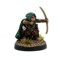 Male Halfling Ranger - William The Shrubber