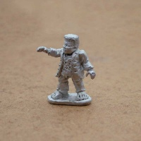 Male Halfling Flesh Golem - Mr Frodonstein