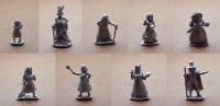 The Village of the Witches  (Set of 9 Villagers)
