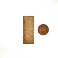 Rectangular 2mm MDF Bases