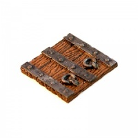 Iron Bound Wooden Trapdoor