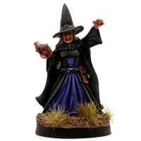 Witch Queen with Spell Book - Sister Greystorm