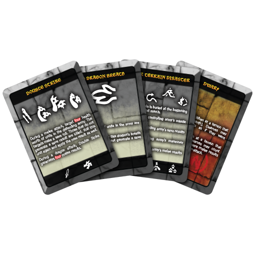 Abilities and Effects Cards